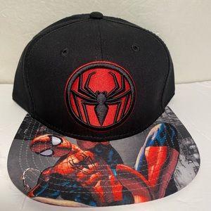Spiderman Marvel Comic Snapback Hat